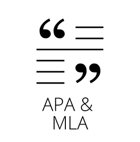 APA and MLA